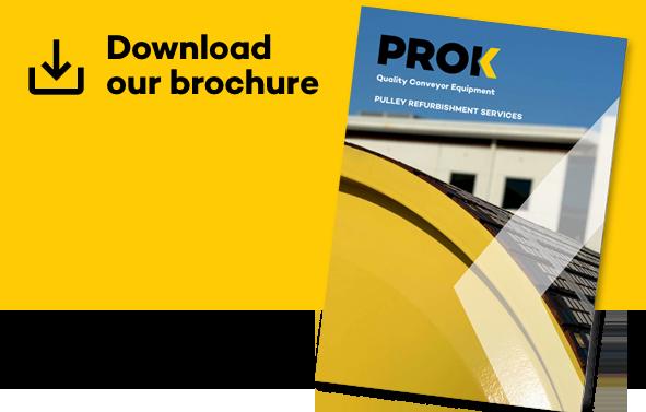 Nuestro folleto para el servicio de renovación de poleas, contáctenos para más detalles.