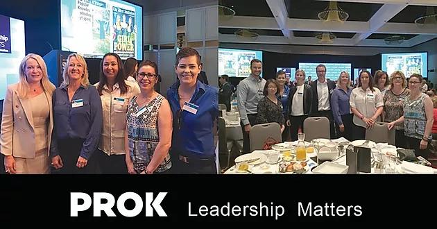 A liderança é importante na PROK Conveyor Technologies.