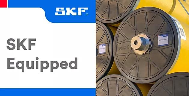 Nossos rolos PROK são equipados com SKF